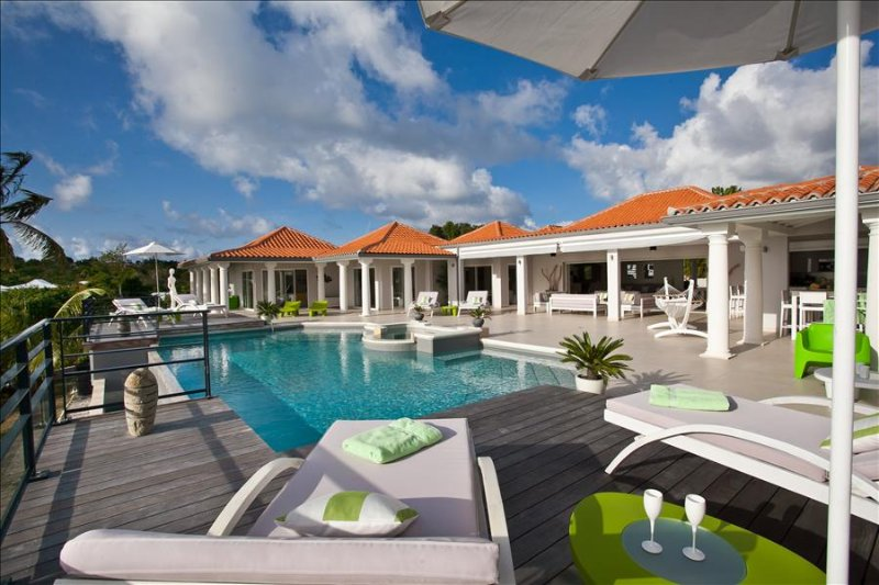 Villa Giselle at Terres Basses, St. Maarten, Walking DIstance to Plum Bay Beach - Image 1 - Terres Basses - rentals