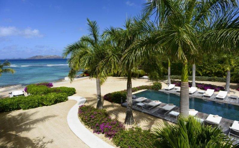 Luxury 5 bedroom St. Barts villa. Beach access and snorkeling in front of villa! - Image 1 - Marigot - rentals