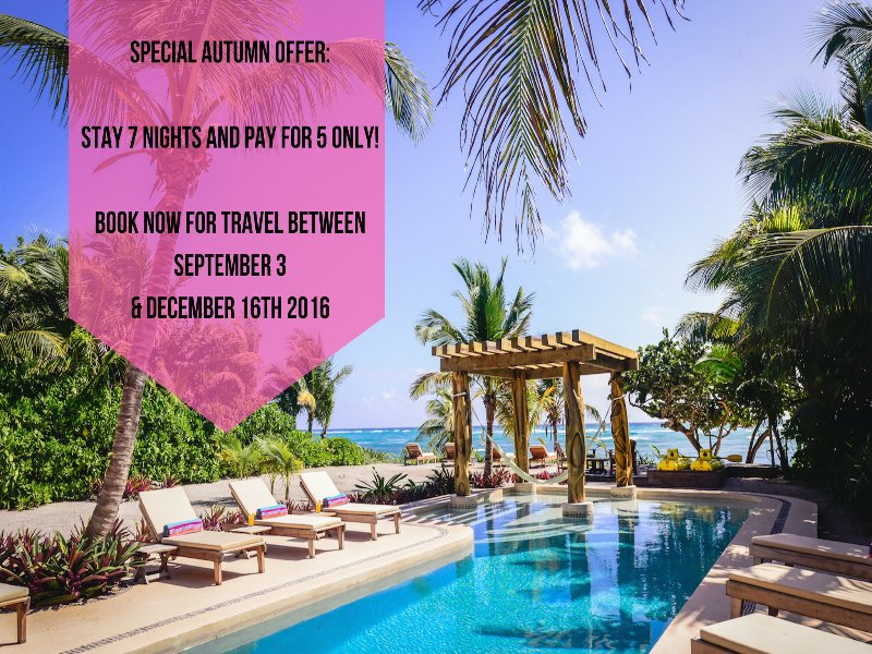 SPECIAL AUTUMN OFFER STAY 7 NIGHTS & PAY FOR 5 ONLY!   - Riviera Maya Haciendas - Alma Rosa / Chef service - Akumal - rentals