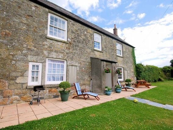 The property has a private, south-facing walled garden - LEVAF - Cornwall - rentals