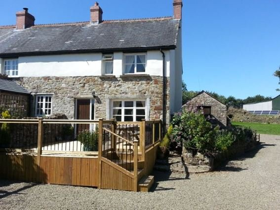 View towards Lime Tree Cottage - LIMEC - Buckland Brewer - rentals