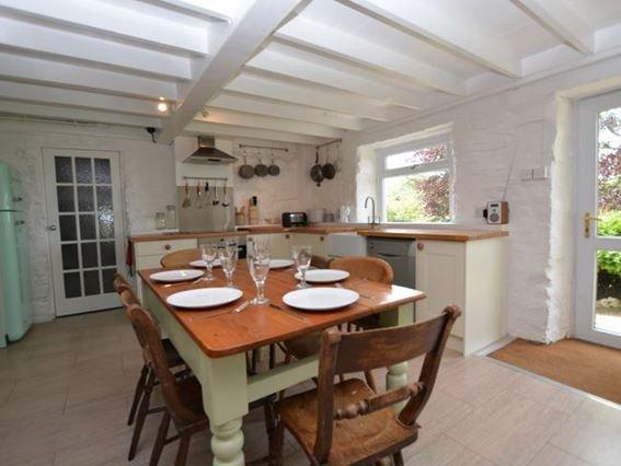 Kitchen/diner - BRYNB - Devil's Bridge (Pontarfynach) - rentals