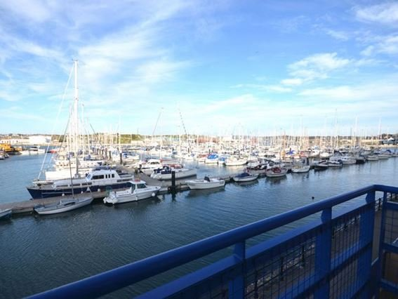 View from lounge balcony over the marina  - NMILE - Turnchapel - rentals