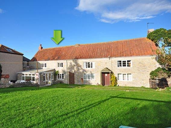 View towards the cottage - MOORH - Somerset - rentals