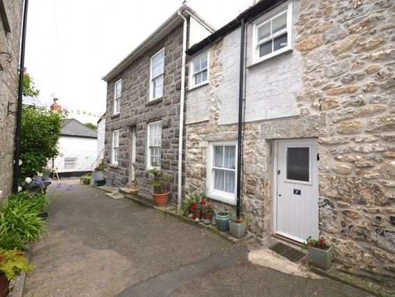 View down to the cottage - MOUSE - Mousehole - rentals