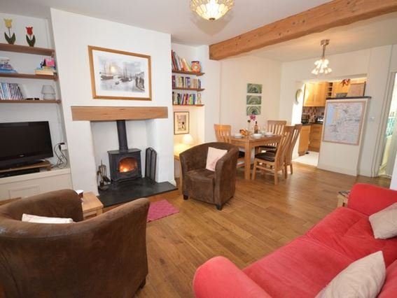 Relax by the woodburner in the lounge area - MYRAC - North Devon - rentals