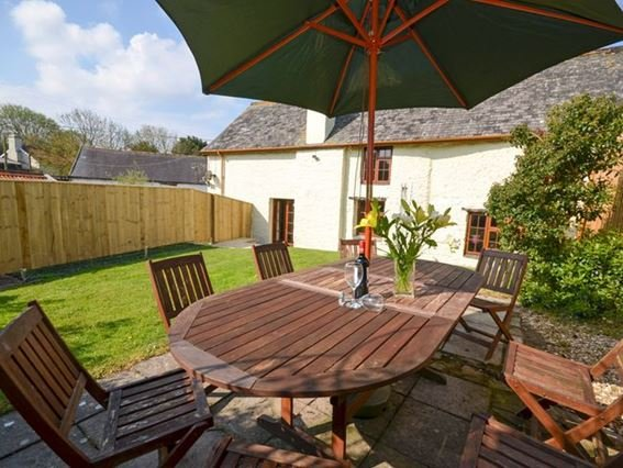 Enclosed garden to the rear of the cottage - FCH1227 - Georgeham - rentals