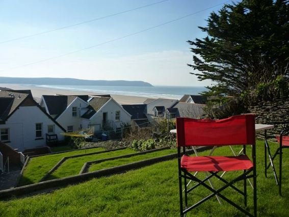 Sea view from the garden area - BKERS - Woolacombe - rentals