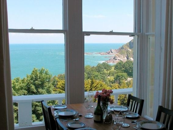 View from the dining area - OEDGE - Ilfracombe - rentals