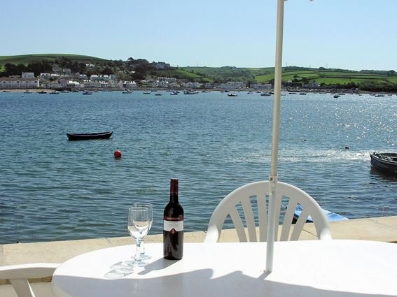 View from patio area with outside seating across to Instow - OLDB1 - Appledore - rentals