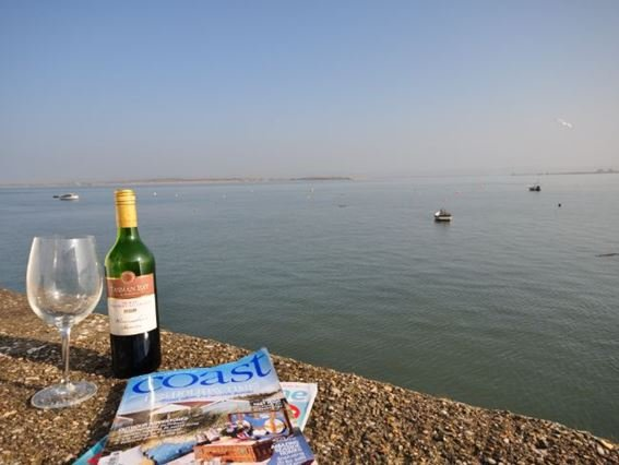 Views from the sun terrace at the property  - OLDBO - Appledore - rentals