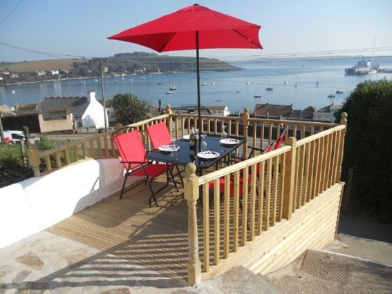 Enjoy the views from the patio area at front of the property - FCH1387 - Falmouth - rentals