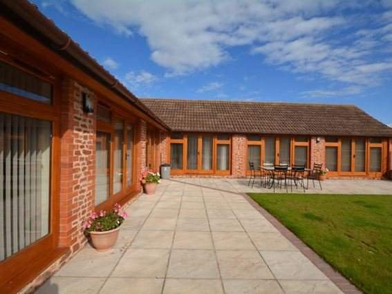 View towards the property and enclosed garden - LOBAR - Somerset - rentals