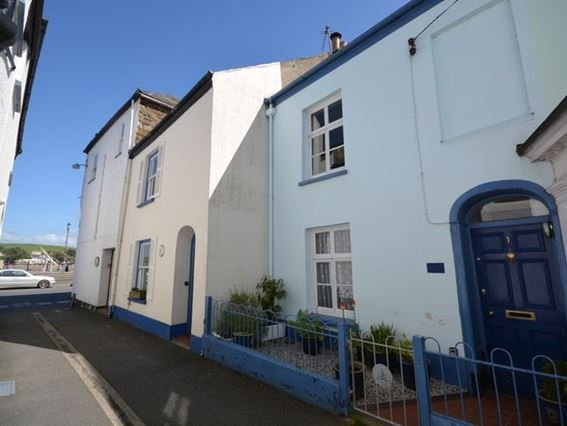 View of the cottage looking towards the quayside - QSIDE - Appledore - rentals