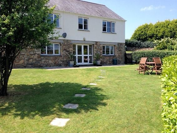 Entrance to the apartment with enclosed garden - RSIDE - Marazion - rentals