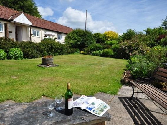 View of the property from the enclosed garden - SHAYN - Huntsham - rentals