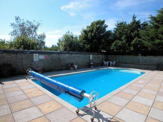 The shared outdoor swimming pool - SLHUT - Saunton - rentals
