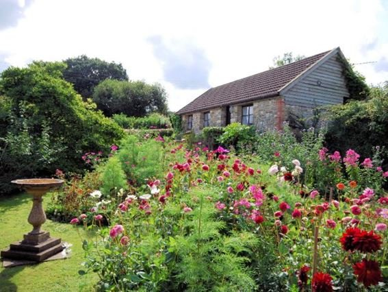 View of the property and enlcosed garden - SUMME - Cricket Malherbie - rentals