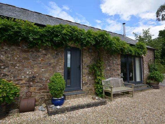 View towards the property - TREGI - Cornwall - rentals