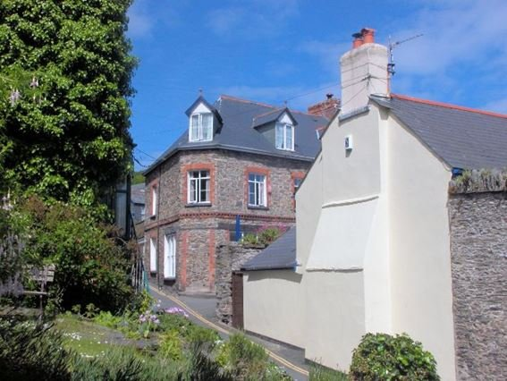 View towards the cottage - WAVER - Lynton - rentals