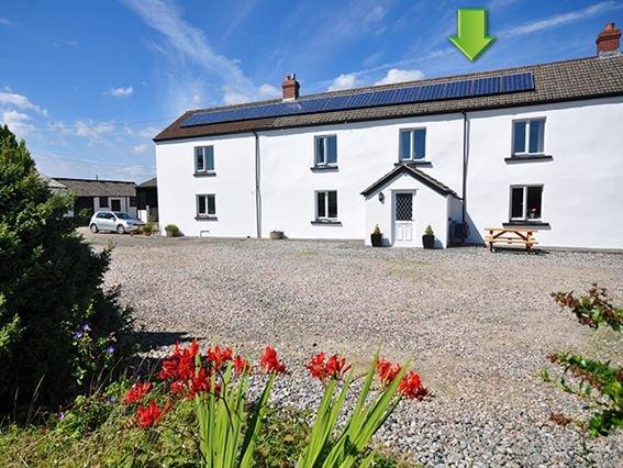 View towards the property - WAYTO - Devon - rentals