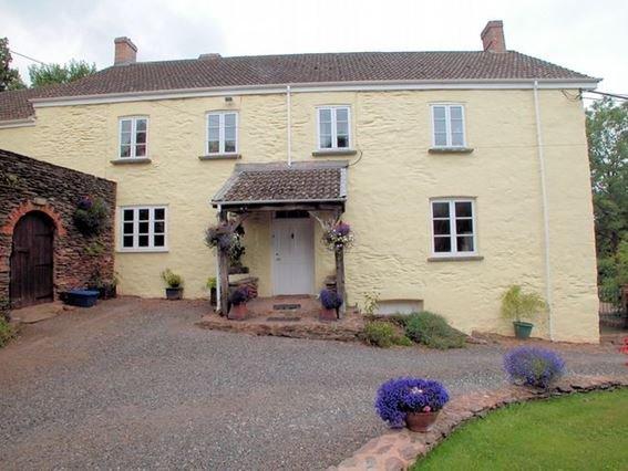 View towards the cottage - WBART - Stogumber - rentals