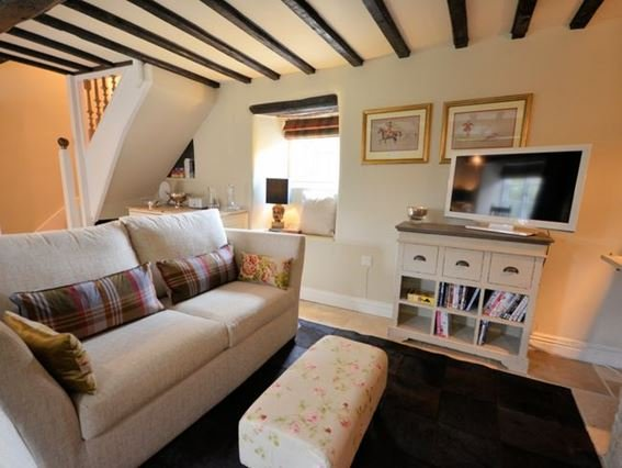 Lounge with many original features - TMILL - Lower Slaughter - rentals