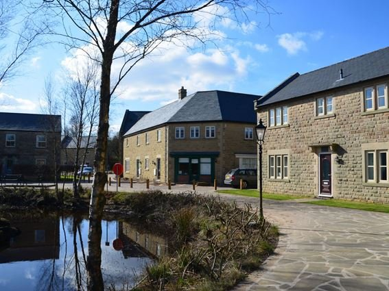View towards the property  - AUSTE - Derbyshire - rentals