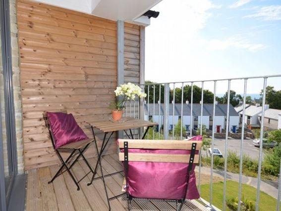 Sea views from the balcony - TOPSA - Cornwall - rentals