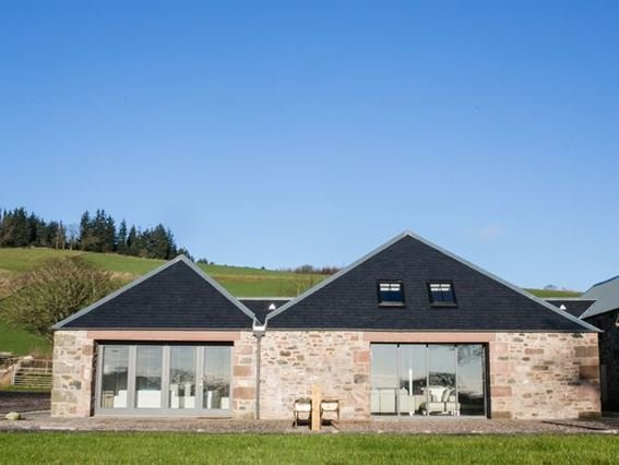 The Bothy is the smaller of the two barns - OBOTP - Alyth - rentals