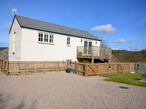 View towards the property - LJASM - Cornwall - rentals