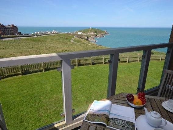 Stunning sea views from the balcony - CRIBP - Cornwall - rentals