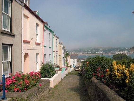 View towards the property with estuary views - CURLE - Appledore - rentals