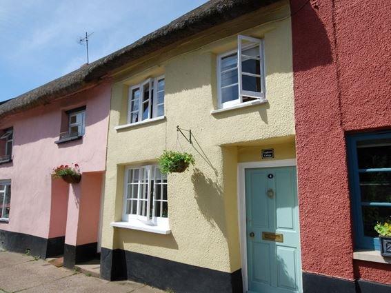 View towards the property - TRHOU - Devon - rentals
