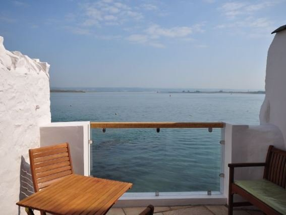 Uninterrupted views over the estuary from the terrace - WESCR - Appledore - rentals
