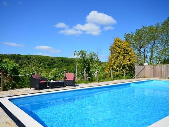 Outdoor heated swimming pool - PENDA - Wadebridge - rentals