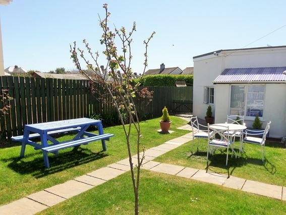 View towards the garden and property - GULCT - Tintagel - rentals