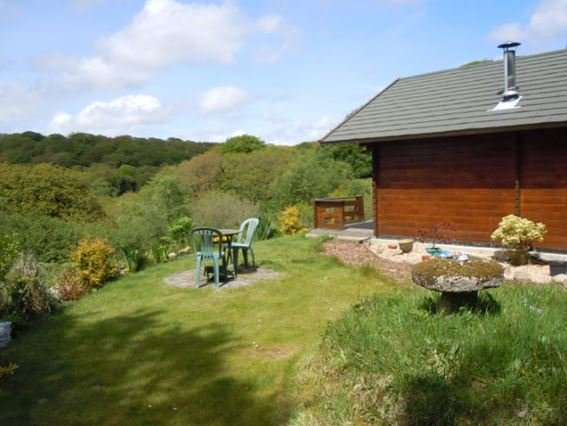 Cabin with view towards the surrounding woodland - SYLVA - Saint Blazey - rentals