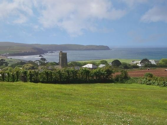 View of Thurlestone beach taken from nearby the property - WDELV - Thurlestone - rentals