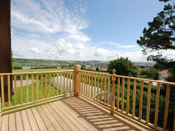 View from decked balcony - FCH537 - Bradiford - rentals