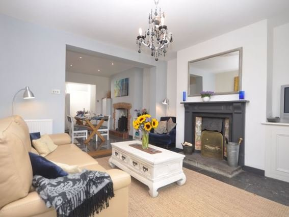 Relax and unwind by the fire in the open-plan living space - WESBA - Wookey Hole - rentals