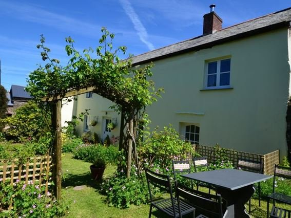 View towards the property from the pretty garden - SPATC - Kentisbury - rentals