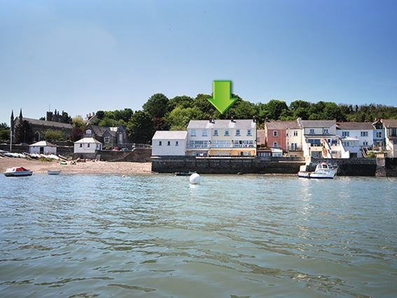 View towards the property accross the estuary - FORDB - Appledore - rentals