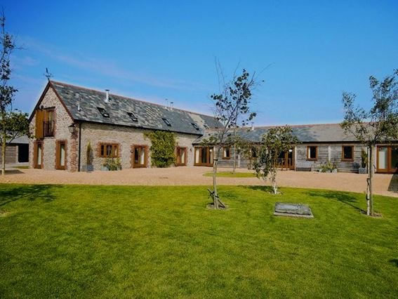 View towards the cottages - FOLOW - Alweston - rentals