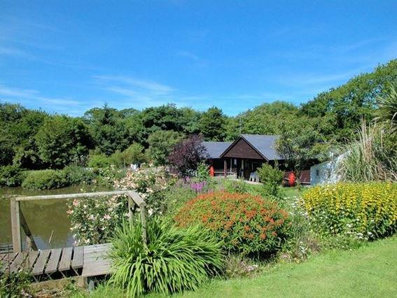 View towards the lodges - FOUR1 - Bradworthy - rentals