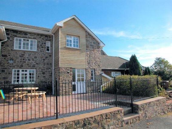 View towards the cottage - FRIAR - Devon - rentals