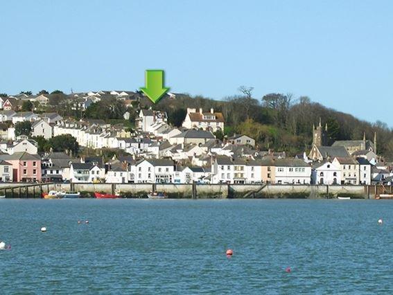 View towards the property across the estuary - GABLE - Appledore - rentals