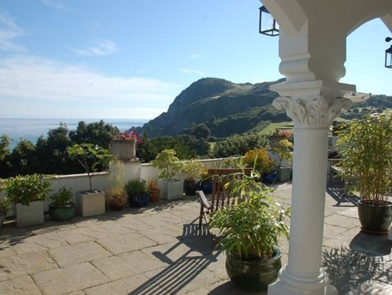 Relax on the private terrace and enjoy the seaviews - DARWI - Ilfracombe - rentals
