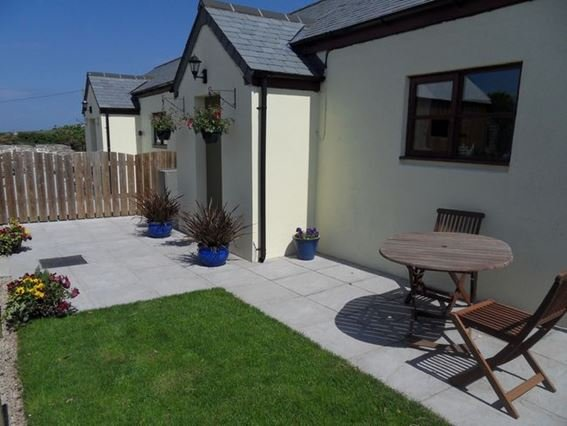 View of the property from enclosed garden area - GIDUP - St Just - rentals