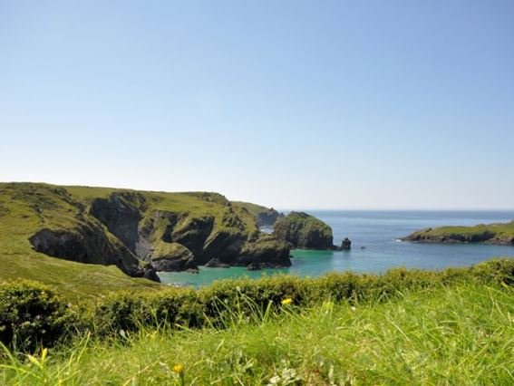 View from the communal gardens - CORMO - Mullion - rentals